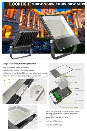 Manufacture Projector Lighting 200W Best Price SMD 200 Watts Outdoor LED Project Light pictures & photos