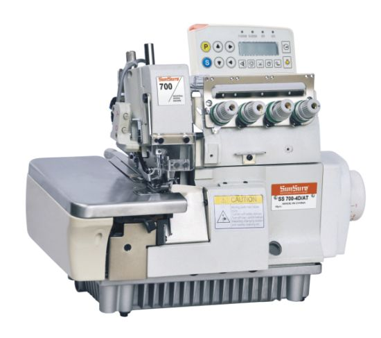 Direct-Drive 4-Thread Overlock Sewing Machine with Auto Trimmer (Pegasus M700 series)