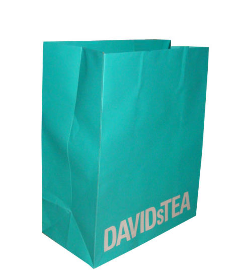 Paper Shopping Bag with Custom Printing pictures & photos