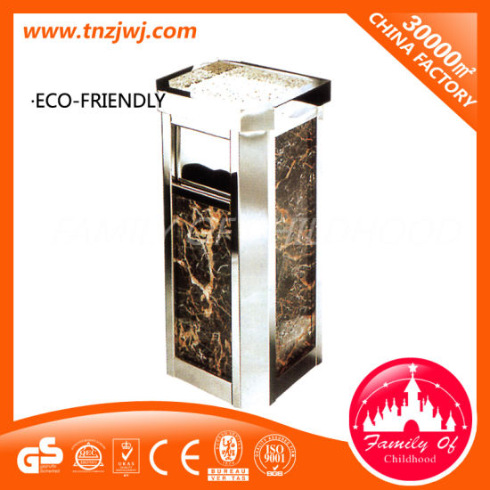 New Design Stainless Steel Outdoor Trash Can Garden Dustbin pictures & photos