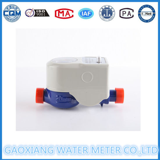 Wireless Remote Reading Water Meter with Pulse Sampling