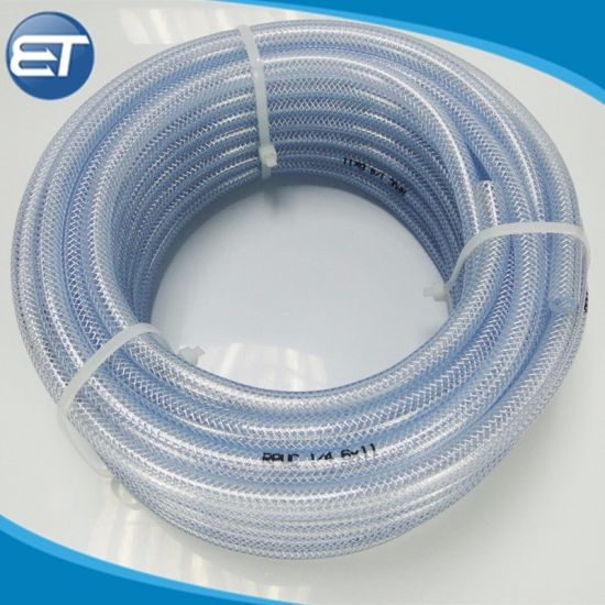 Wholesale OEM/ODM Food Grade PVC Braided Hose/Pipes for Water