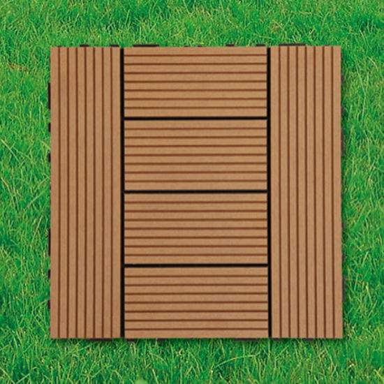 China Wpc Wood Plastic Composite Decking Floor Tile For Outdoor