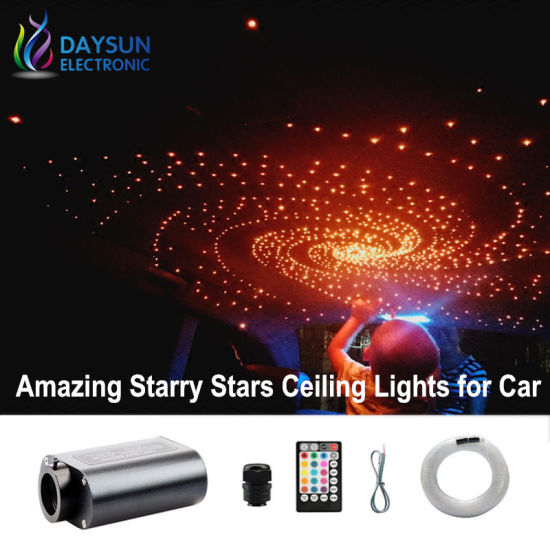 Led Starry Stars Ceiling Lamps For Car New Creative Diy Decorative Lights Auto Cars Optic Fiber Lighting
