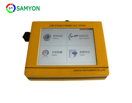Lpt Pit Pile Integrity Tester for Pile Integrity