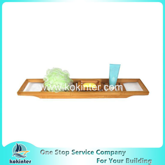 China Hot Sale Bamboo Bathtub Caddy Bathtub Tray Bathtub Rack ...