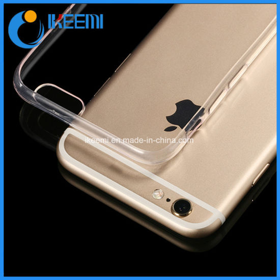 2018 Hot Sale Thin Transparent TPU Mobile Case pictures & photos