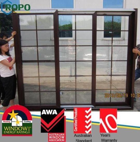China Wooden Pvc Sliding Door Sliding Glass Door Grill Design