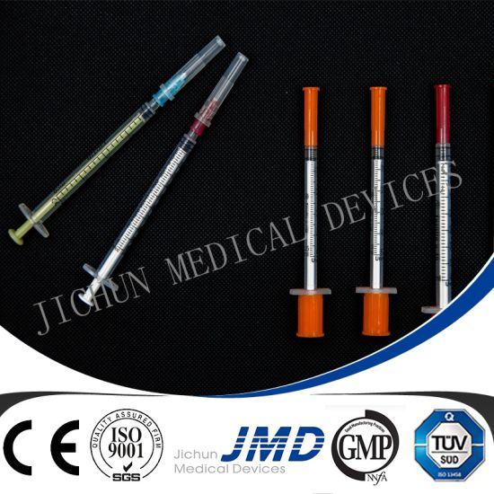 0.3ml/0.5ml/ 1ml Disposable Insulin Syringes pictures & photos