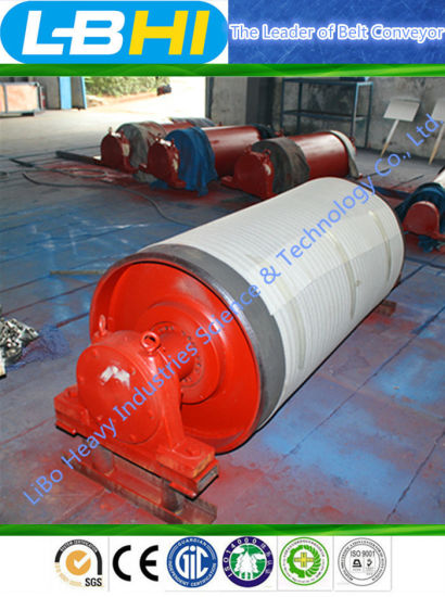 CE ISO SGS Heavy Driving Conveyor Pulley for Belt Conveyor pictures & photos