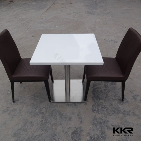 Modern Coffee Shop Table Restaurant Dining Table for Hotel