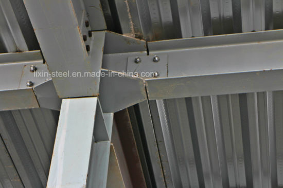 Easy Install Light Steel Workshop Building Covering with Color Steel Sheet pictures & photos