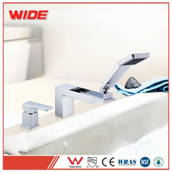 China Cheap Bathroom Waterfall Bathtub Faucet Tub Faucet Parts