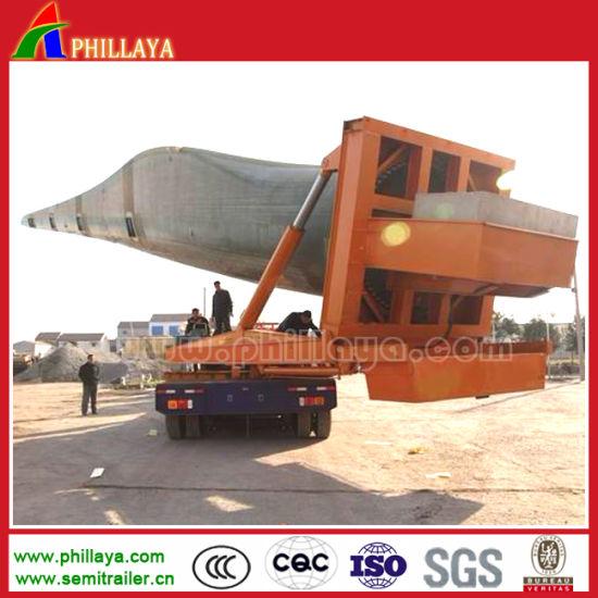 3 Axles Hydraulic Steering Wind Tower Transport Dolly Semi Trailer