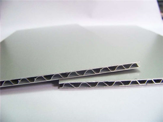 Aluminum Corrugated Core Sandwich Panels for Moble Home pictures & photos