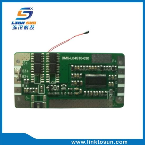 3s 4s 10A Ti Lithium Protect Circuit BMS with Smbus for Battery Pack pictures & photos