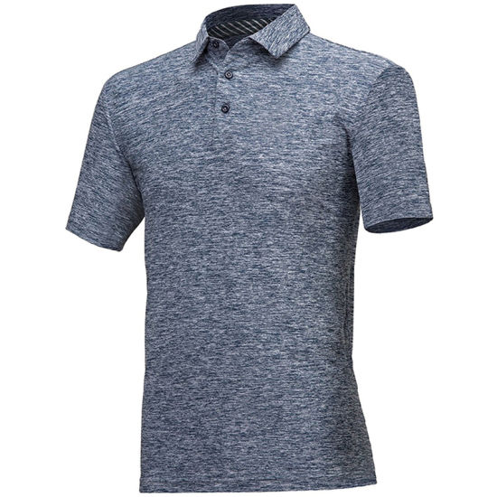 Men's Dry Fit Athletic Short-Sleeve Polo Shirts Wholesale Factory
