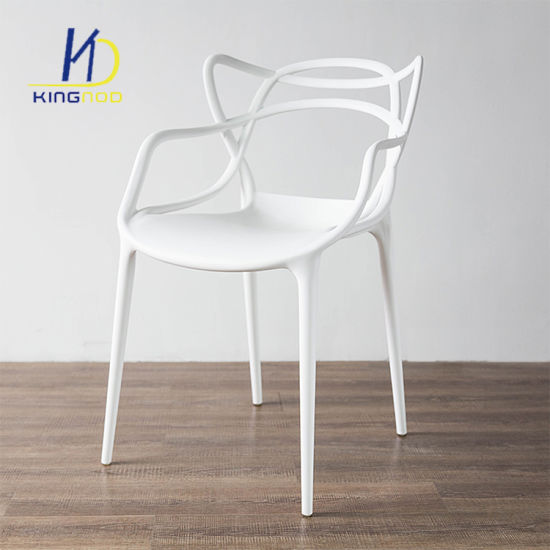 China Wholesale Replica Master Armchair Stacking PP Plastic