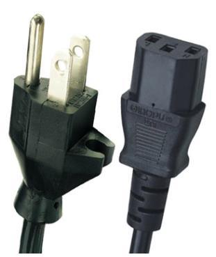 Power Cable Electrical Cord AC Computer Power Cord Extension Cord Power Supply Cord