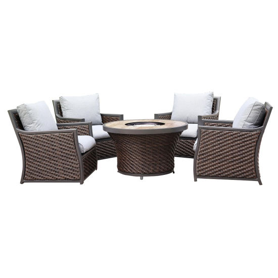 Rattan Furniture Lounge Chair