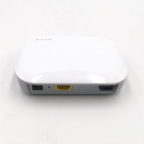 FTTH Optic Fiber ONU Gpon 1ge Epon Ont Modem 1 Port 1 Pon Xpon Gpon Olt