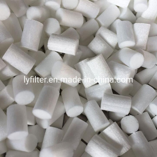 Customized Dimension Cotton Fiber Foam Media Electrolyte Reservoir and Wick Filter for Electronics and Sensors
