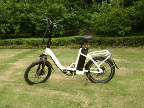 20-inch Long Range Folding E-Bike with Aluminum frame and 36V 48V Lithium Battery Best Seller in 2019