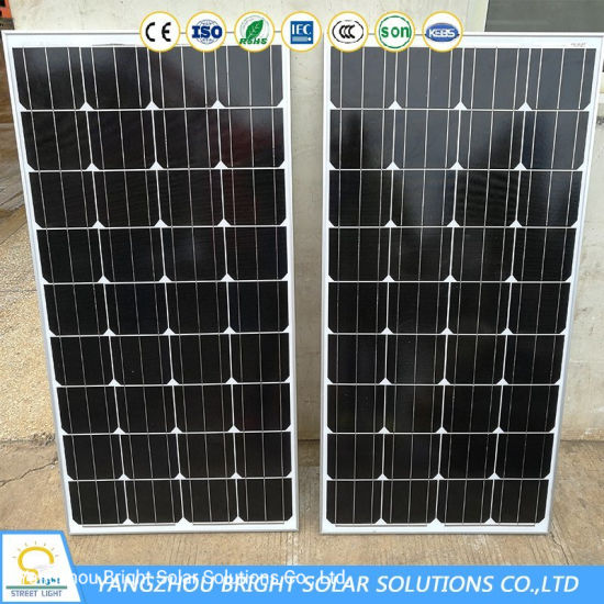 Ce RoHS Soncap Pvoc Certified 160lm/W LED Solar Street Light