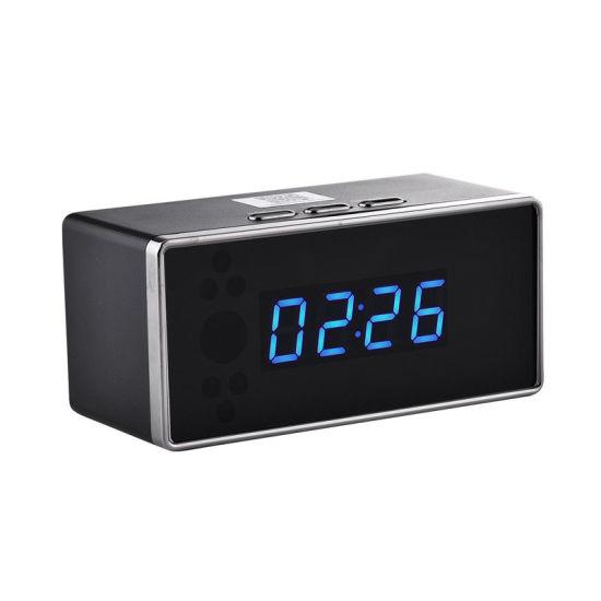 WiFi Mini HD 1080P Camera Clock Motion Detector Night Vision Surveillance Wc005y10
