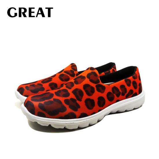 Greatshoe New Style 3D Print Women Traveling Sneakers Outdoor Walking Trekking Shoes Big Girls Sneakers Women Sport Shoes