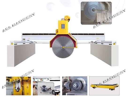 Multi Blades Block Cutting Machine Sawing Blocks to Slabs (DQ2200/2500/2800)