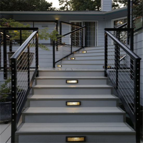 China Stainless Steel Balcony Cable Railing Design Terrace Grills