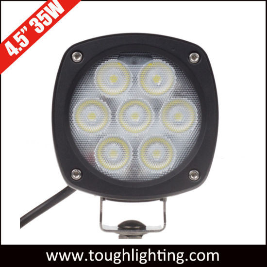 12V 24V 4.5in 35W Spot Flood Beam CREE LED Compact Work Lamps