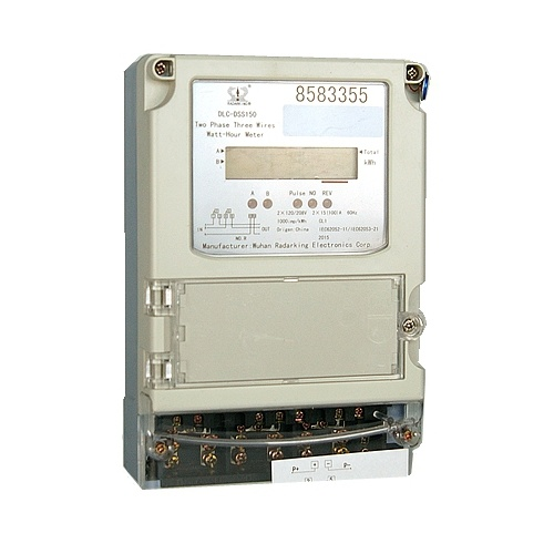 Three Phase Three Wires Prepayment Electric Energy Meter