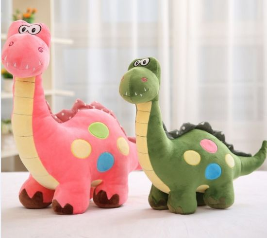 Cute Colorful Dinosaur Animal Plush Toys for Promotion Gifts