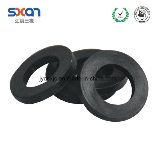 China Heat or Oil Resistant Round Rubber Flat Washer - China Rubber ...