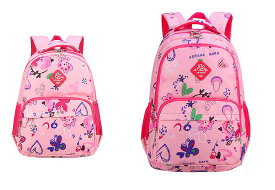 Student Schoolbag Leisure Lovely Middle School Students Classic Print Double  Shoulder Bag Korean Backpack 248bb71b67e1a