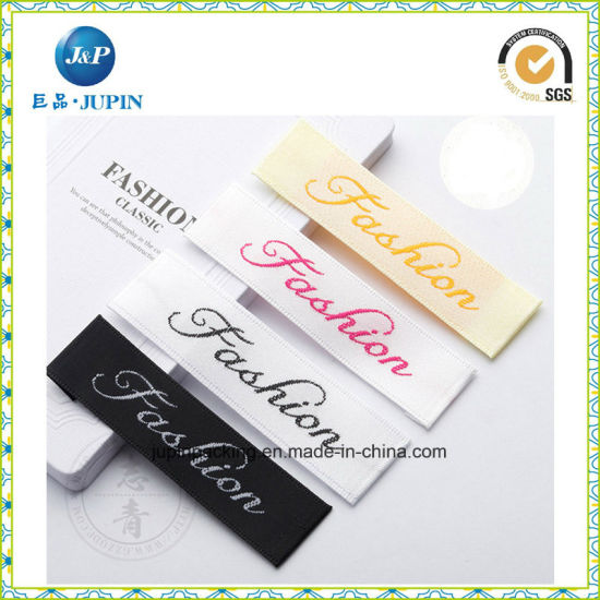 Custom Printed Garment Cloth Woven Fabric Label (JP-CL029)