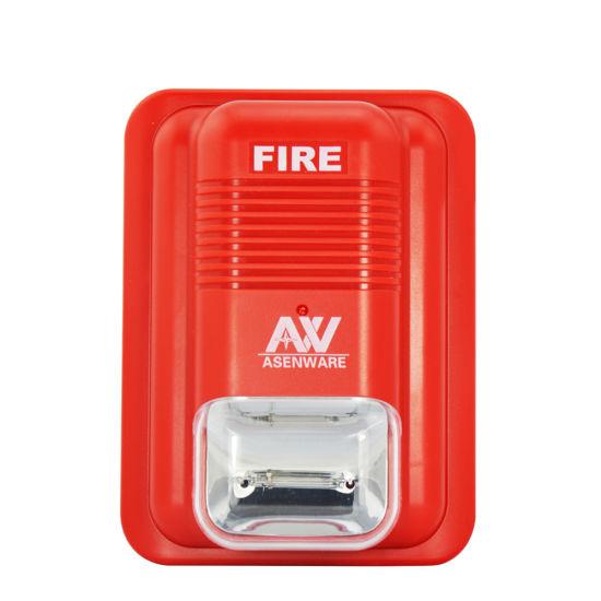 Conventional Fire Alarm System Sounder Strobe Light
