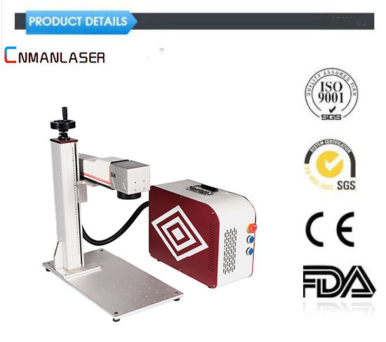 30W Laser Marking Equipment/Engraving/Engraver/Marker Machine for Metal/ Plastic Cup/Bearing/Auto Spare Parts/Jewelry