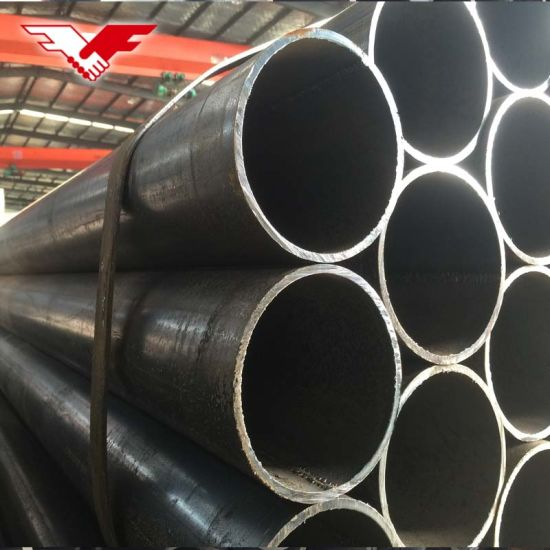 China astm a gr b erw schedule black carbon steel