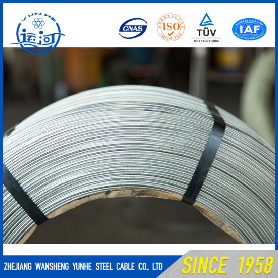 China Low Cost High Quality Galvanized Steel Wire (ASTM