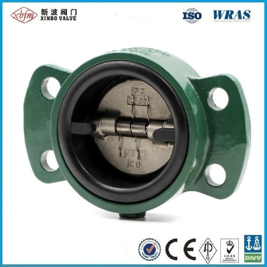 Carbon Steel Wafer Type Dual Disc Check Valve pictures & photos