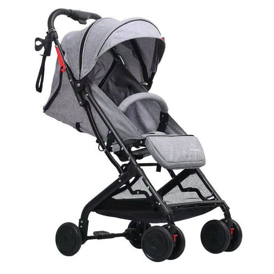 New Design Aluminum Frame Pocket European Luxury Baby Stroller pictures & photos