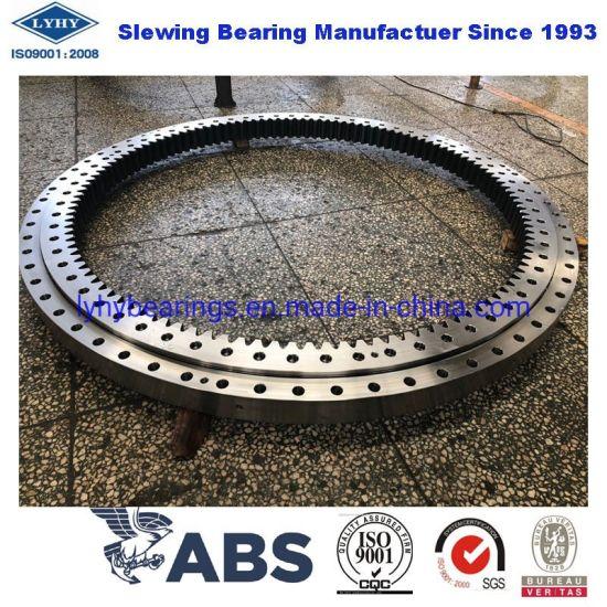 External Gear Slewing Bearing Slbo1140 Single Row Ball Bearing