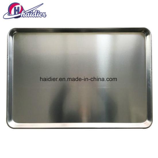 China 40x60cm 60x80cm Customized Stainless Steel Aluminum Bakery