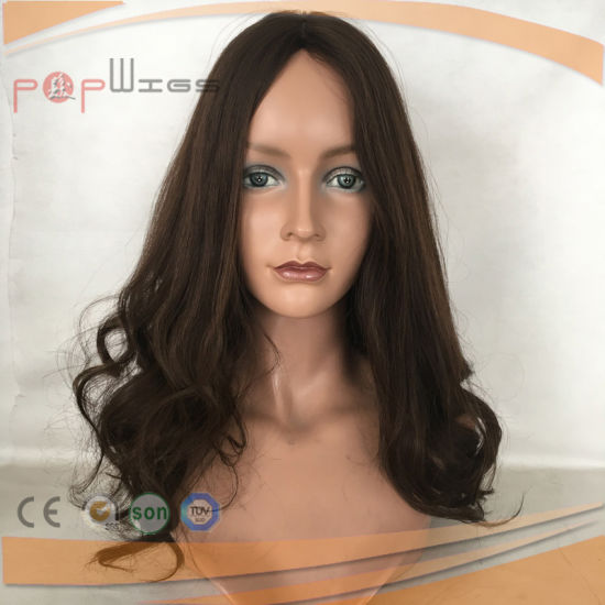Human Hair Hand Tied Brown Lace Wig (PPG-l-0014) pictures & photos