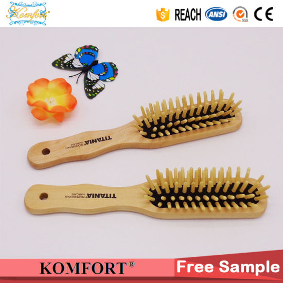 Cheap Personalized Wooden Hair Comb Brush For Women