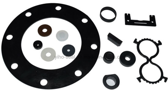 China Silicone/EPDM/FKM/NBR Rubber Gasket with FDA Approved Gasket ...