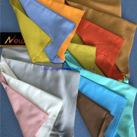 Solid Color Dyed Cloth, Polyester Fabric, Multiple Uses, Changxing Wandu Textile Sales Wholesale Export